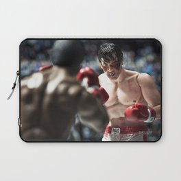 Apollo Creed vs Rocky Balboa Laptop Sleeve
