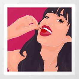 @officialalyssaa Art Print