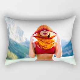 Blided by the Nature Rectangular Pillow