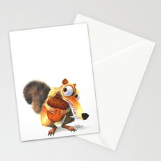 Scrat! Stationery Cards