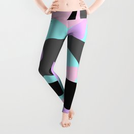 Bubblegoth Camouflage Pattern(Lava Lamp design for Stickers & Clothes) Leggings