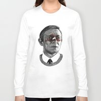 fargo Long Sleeve T-shirts featuring Martin Freeman - Fargo by Cécile Pellerin
