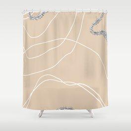 Desert Shower Curtain