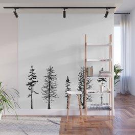 A Few Trees Wall Mural
