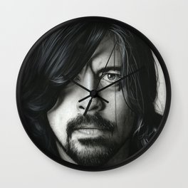 'Grohl In Black II' Wall Clock