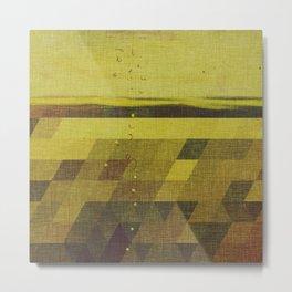 Solidago Meadow Metal Print