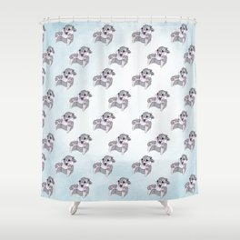 Disney's Thumper on Ice Shower Curtain