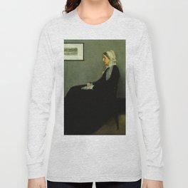 WHISTLERS MOTHER - JAMES ABBOTT MCNEILL WHISTLER Long Sleeve T-shirt