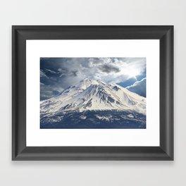 Mt Shasta Framed Art Print
