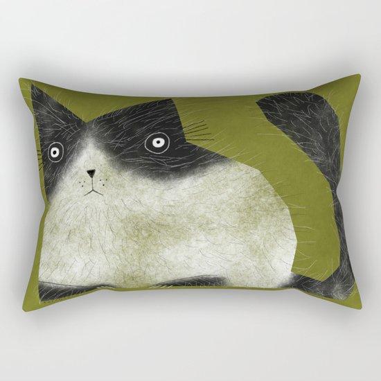 BRISTLE CAT Rectangular Pillow