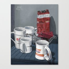 What Happen to Coffee Time? Canvas Print