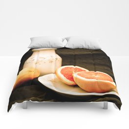 Grapefruits Comforters
