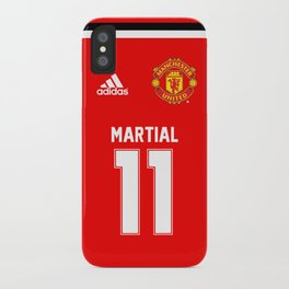 Martial Edition - Manchester United Home 2017/18 iPhone Case