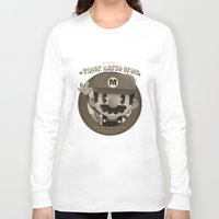 mario bros Long Sleeve T-shirts featuring Mario Bros Fan Art by danvinci