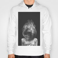 wind Hoodies featuring Wind by Illustratic