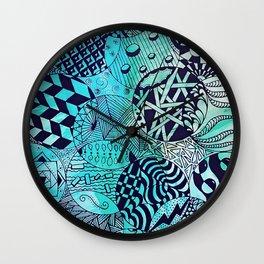 Zentangle Party Wall Clock