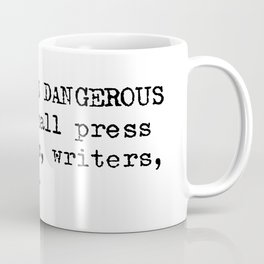 Keep Books Dangerous Coffee Mug