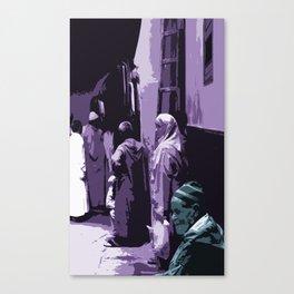 Arab World Canvas Print