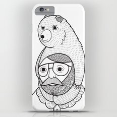 On how baby bears are often used as winter hats Slim Case iPhone 6 Plus