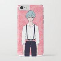 kuroko iPhone & iPod Cases featuring Kuroko by Liyu