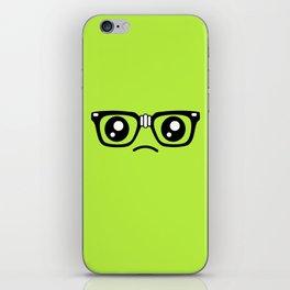 Sad little nerd. iPhone Skin