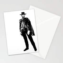 Man With No Name Stationery Cards