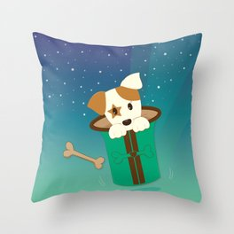 Magical Jack Throw Pillow