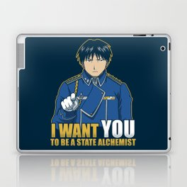I Want You to be a State Alchemist Laptop & iPad Skin