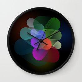 Bloom | Abstract Rose Wall Clock