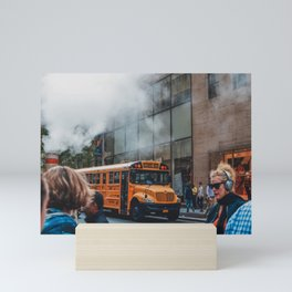 The streets of New York City | Travel Photography Mini Art Print
