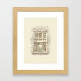 The Night Gardener - William Framed Art Print
