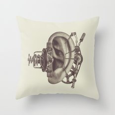 LISTENER Throw Pillow