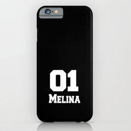 melinaMelina name t-shirt birthday t-shirt Melina iPhone Case
