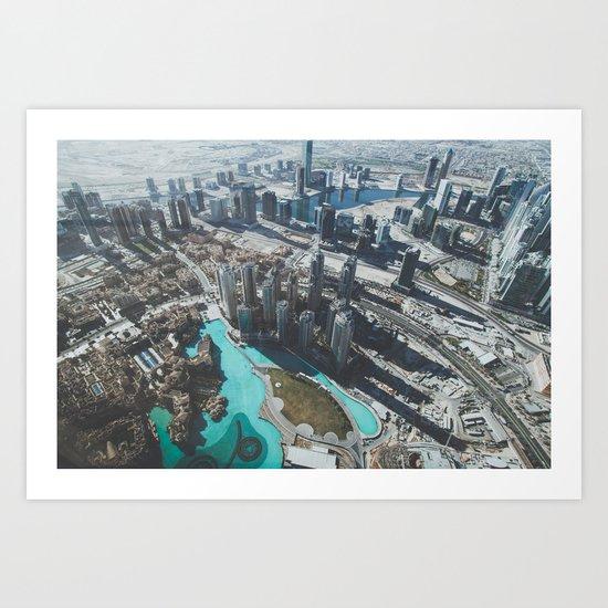 Dubai Art Print