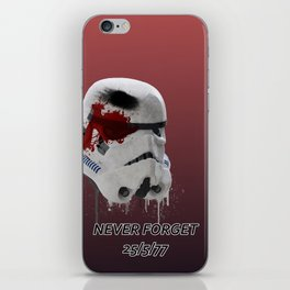 Never Forget (Normal Edition) iPhone Skin