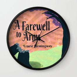 A Farewell to Arms Wall Clock