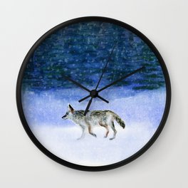 Peace on Earth Wall Clock
