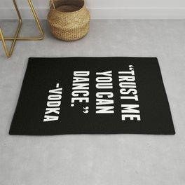 TRUST ME YOU CAN DANCE - VODKA (BLACK) Rug