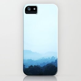 PHOTOGRAPHY / SKY & FOREST 01 iPhone Case