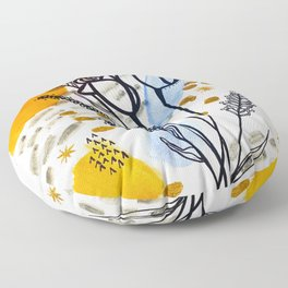 Homebody Floral Floor Pillow