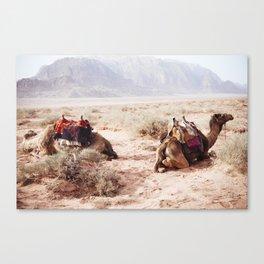 Wadi Rum, Jordan Canvas Print
