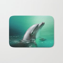 Dancing Dolphins Bath Mat