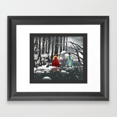 Corea Framed Art Print