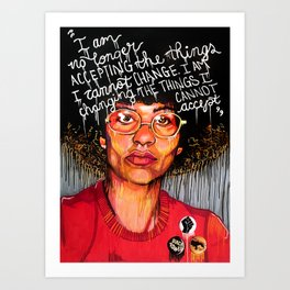 Feminist Quote Art Prints Society6
