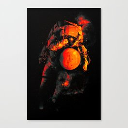 It's a Small Worls After All (Mars) Canvas Print