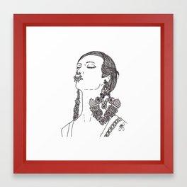 Givenchy Framed Art Print