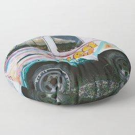 Peace And Love Van Floor Pillow