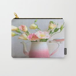 Coffee, Tea or Flowers Carry-All Pouch
