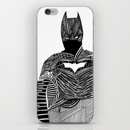 Knight of Night iPhone Skin