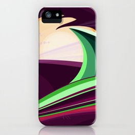 The Wave and The Dragon iPhone Case